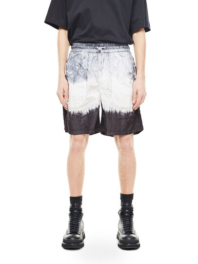 Diesel - PAIDAY, Black/White - Shorts - Image 1