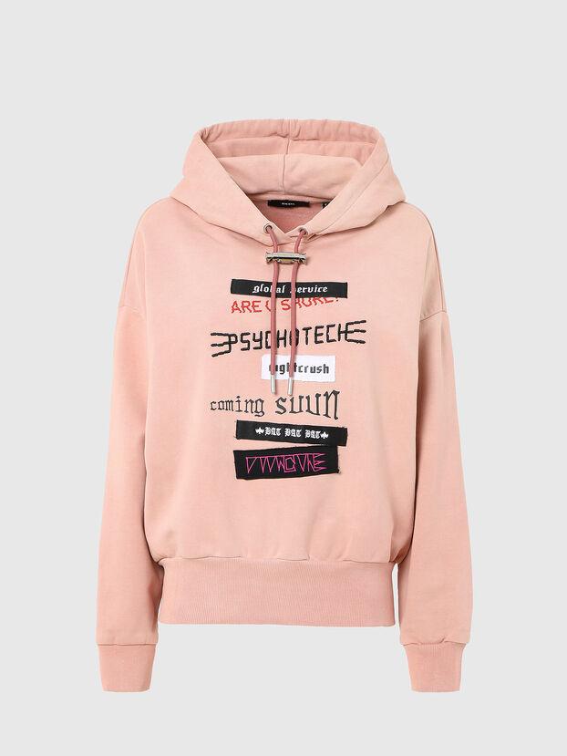 F-MAGDALENA-V1, Pink - Sweatshirts