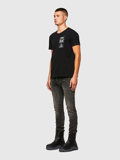 Diesel - T-INY-N1, Black - T-Shirts - Image 5