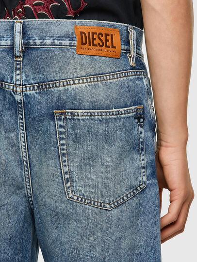 Diesel - D-STRUKT-SHORT, Azul Claro - Shorts - Image 3