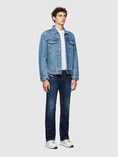 Diesel - Zatiny Bootcut Jeans 082AY, Dark Blue - Jeans - Image 4
