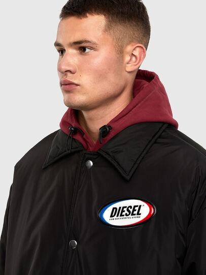 Diesel - W-KODYN, Black - Winter Jackets - Image 3