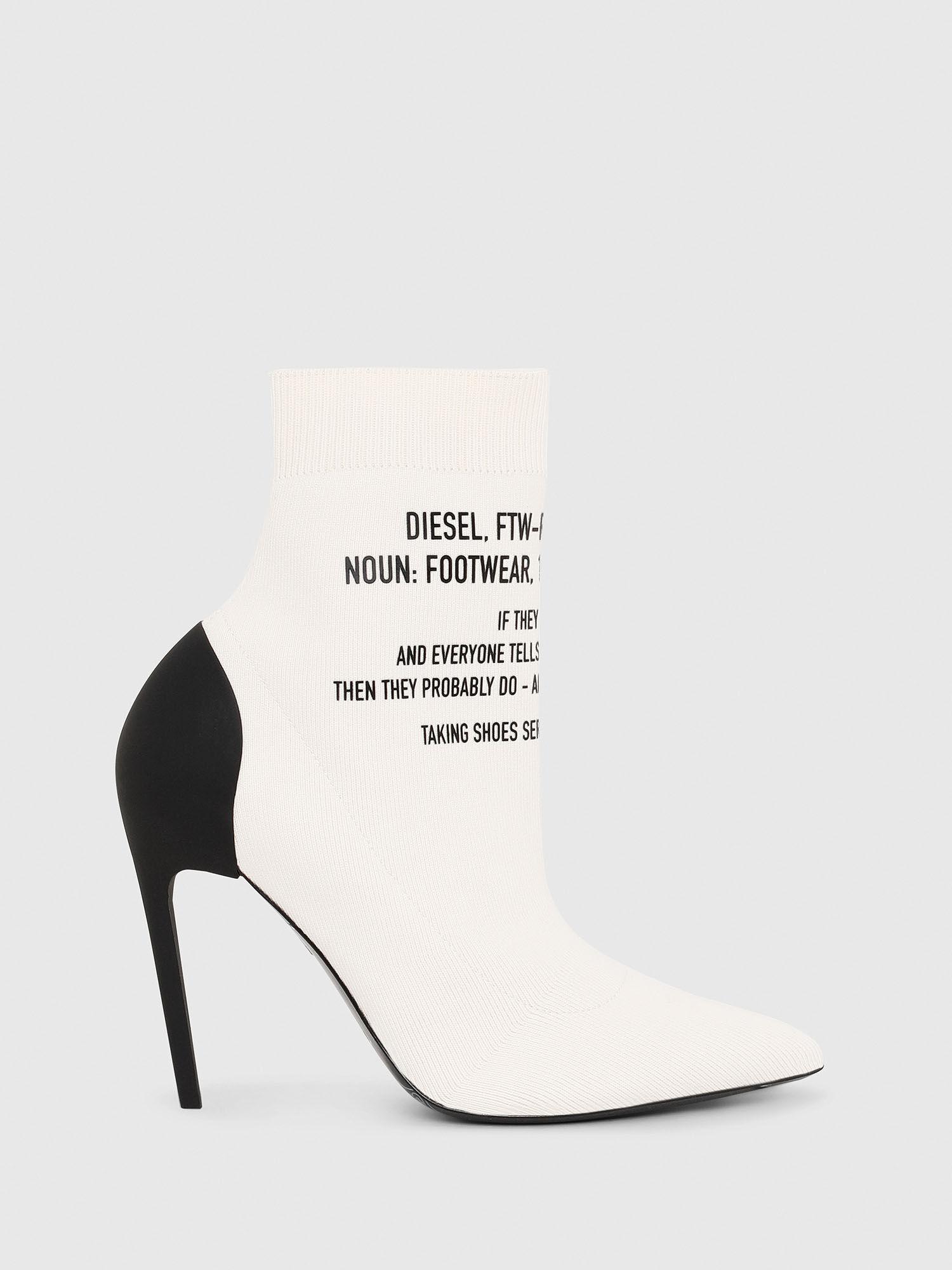 High-heel sock boots with TPU heel   Diesel