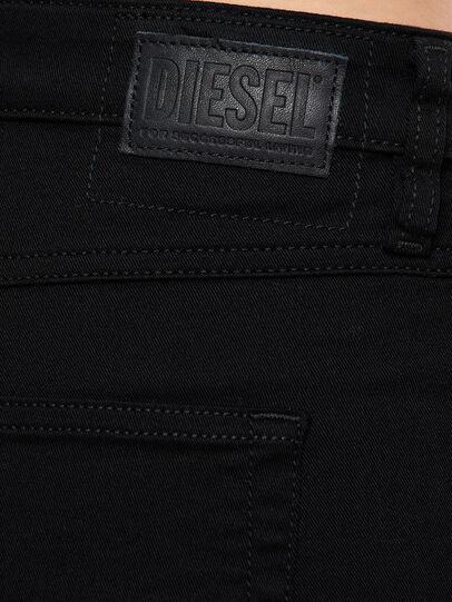 Diesel - Babhila Slim Jeans 069EI, Black/Dark Grey - Jeans - Image 3