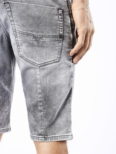 Diesel - KROSHORT JOGGJEANS, Light Grey - Shorts - Image 8