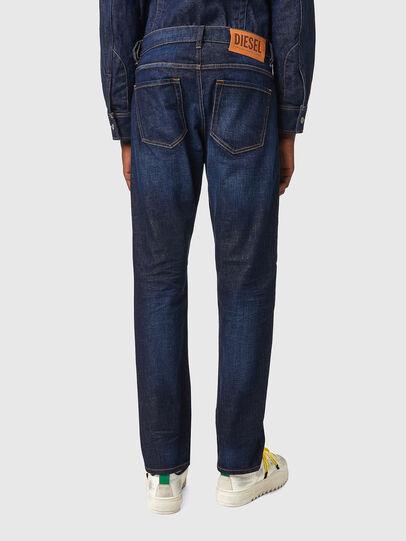 Diesel - D-Viker Straight Jeans 09A12, Dark Blue - Jeans - Image 2
