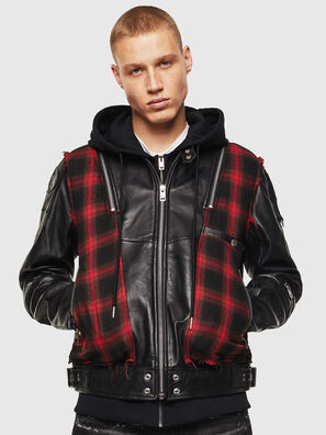 L-NORMAN, Black - Leather jackets
