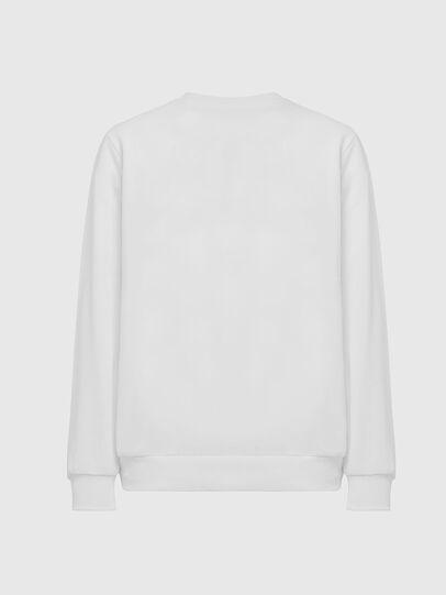 Diesel - S-GIR-DIVISION-LOGO, White - Sweatshirts - Image 2