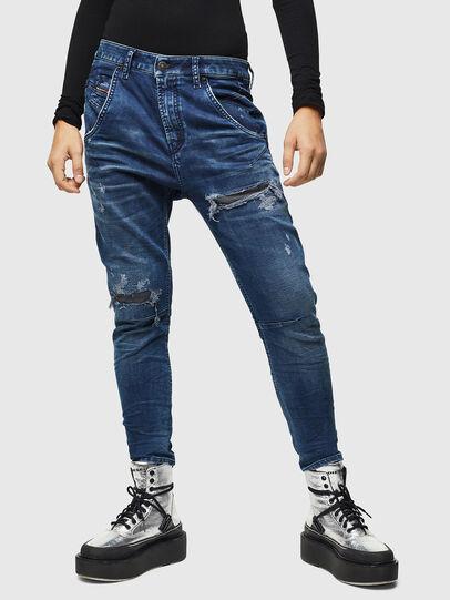 Diesel - Fayza JoggJeans 069JE, Dark Blue - Jeans - Image 1