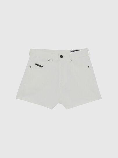Diesel - D-ISI-SHORT, White - Shorts - Image 1