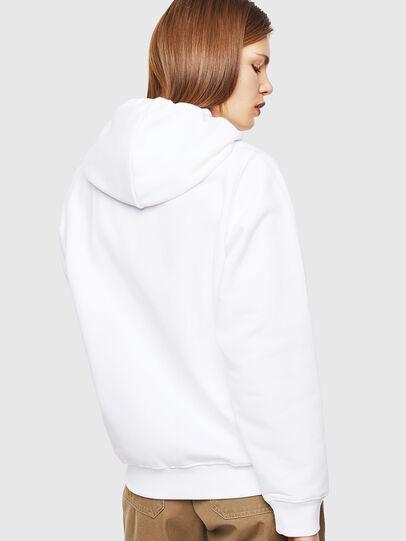 Diesel - F-ANG-HOOD-J1, White - Sweatshirts - Image 2