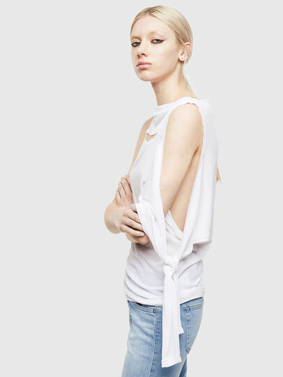 Diesel - T-TATY, White - T-Shirts - Image 6