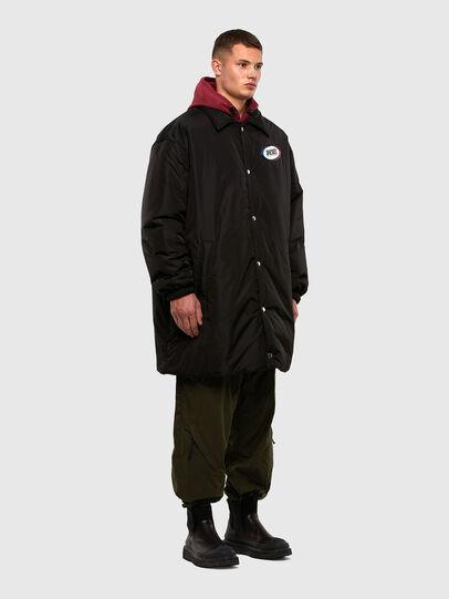 Diesel - W-KODYN, Black - Winter Jackets - Image 1