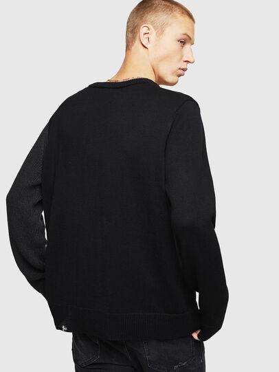 Diesel - K-HALF, Black - Sweaters - Image 2