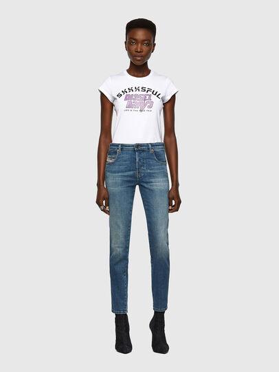 Diesel - Babhila Slim Jeans 09A01, Medium Blue - Jeans - Image 5