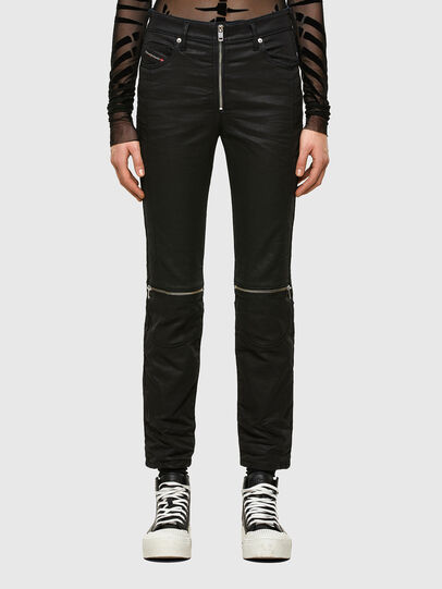 Diesel - D-Joy Slim JoggJeans® 069TT, Black/Dark Grey - Jeans - Image 1