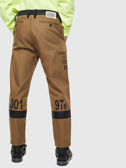 Diesel - P-KAPP, Brown/Black - Pants - Image 2