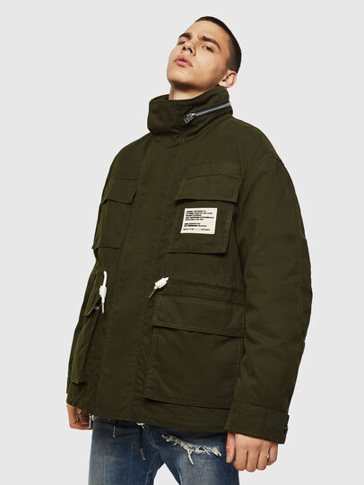 Diesel - J-TOUCHIN, Military Green - Jackets - Image 1