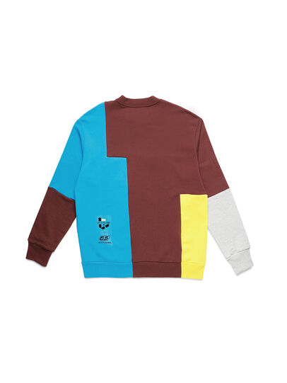 Diesel - D-TAGLIA&CUCI, Multicolor - Sweatshirts - Image 2