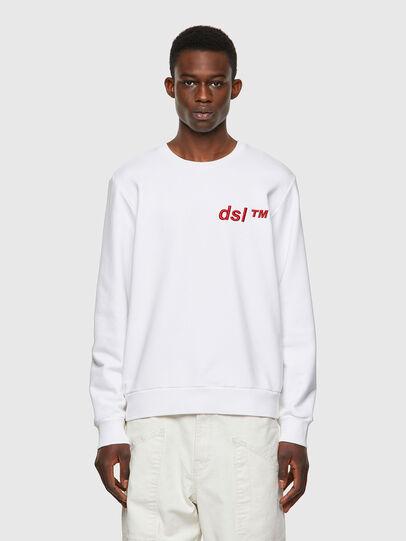 Diesel - S-GIRK-B3, White - Sweatshirts - Image 1