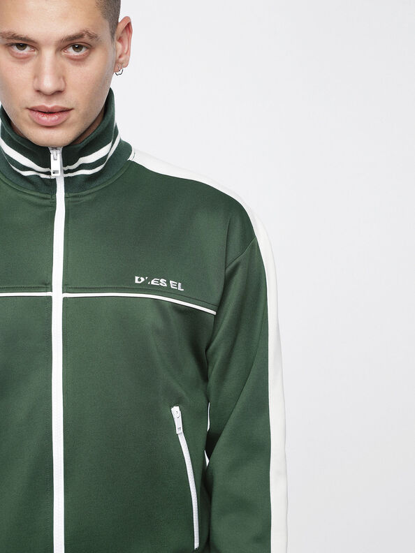 S-ROOTS, Bottle Green - Sweatshirts