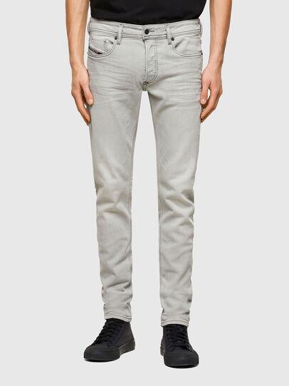 Diesel - Sleenker Skinny Jeans 009PY, Light Grey - Jeans - Image 1