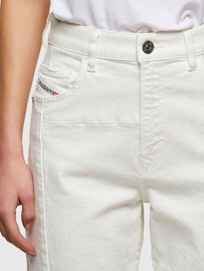 Diesel - D-Reggy Straight Jeans 009UL, White - Jeans - Image 5