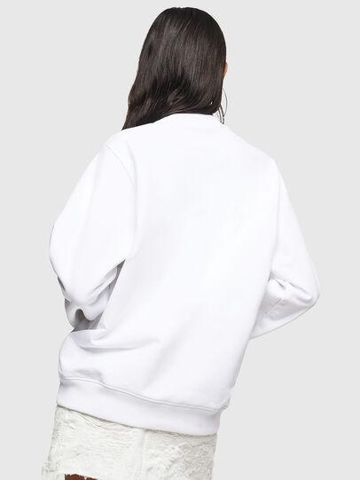 Diesel - F-ANG, White - Sweatshirts - Image 2
