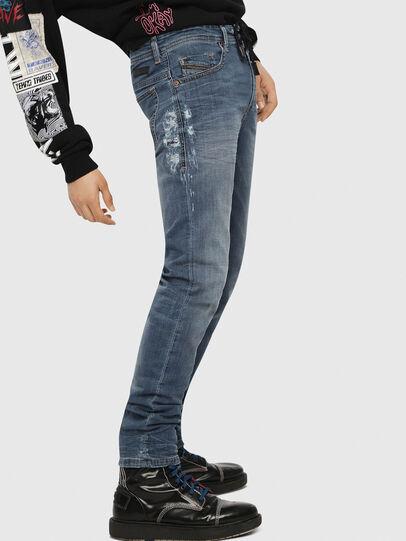 Diesel - Thommer JoggJeans 069BB, Medium Blue - Jeans - Image 3