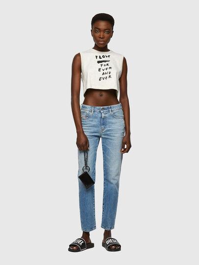 Diesel - D-Joy Slim Jeans 09A07, Light Blue - Jeans - Image 5