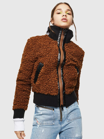 Diesel - L-TOSHA,  - Leather jackets - Image 1