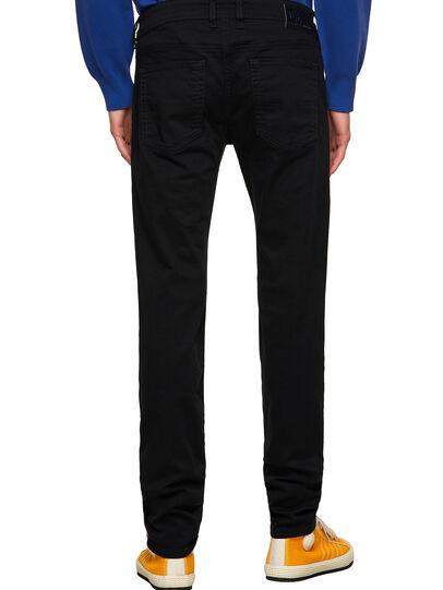 Diesel - Sleenker Skinny Jeans 069EI, Black/Dark Grey - Jeans - Image 2