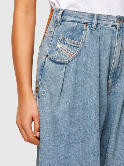 Diesel - D-Concias Boyfriend Jeans 009RQ, Light Blue - Jeans - Image 3