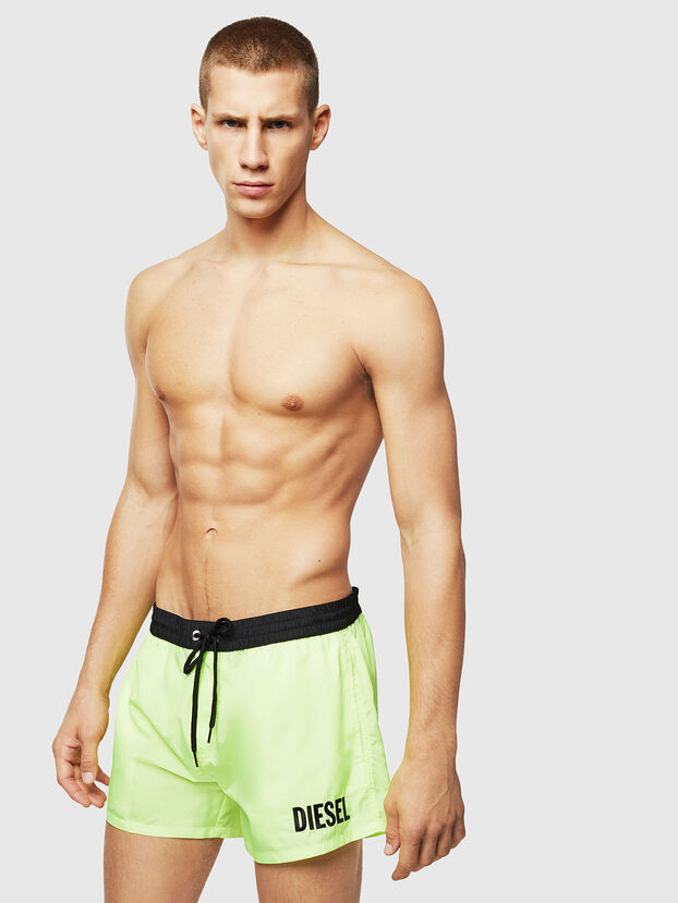 BMBX-SANDY 2.017, Green Fluo - Swim shorts