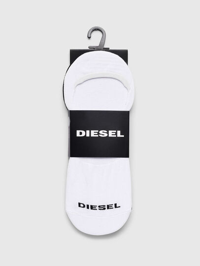 Diesel - SKM-NOSHOW-TWOPACK, White/Black - Socks - Image 2