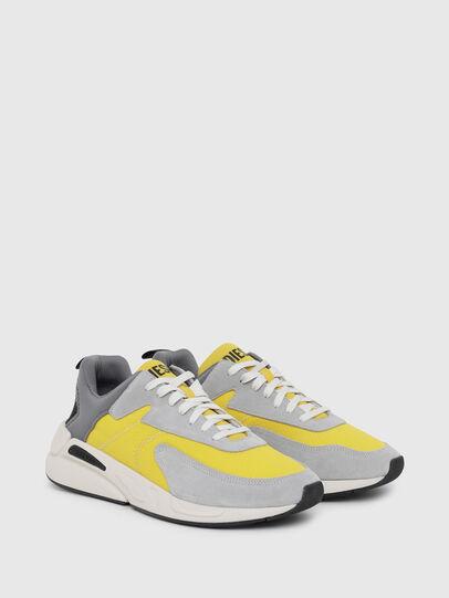 Diesel - S-SERENDIPITY LOW CU, Grey/Yellow - Sneakers - Image 2
