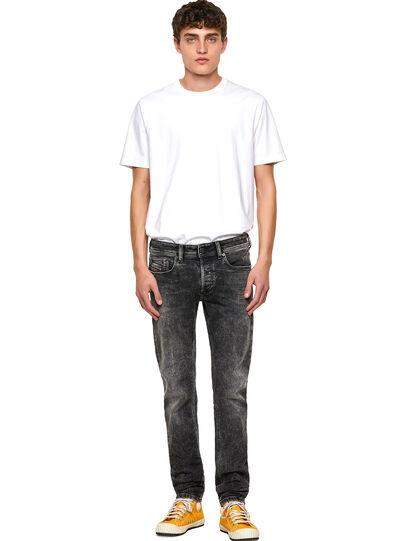 Diesel - Sleenker Skinny Jeans 09A17, Black/Dark Grey - Jeans - Image 5
