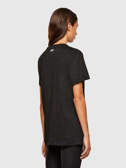 Diesel - T-DARIA-V33, Black - T-Shirts - Image 2