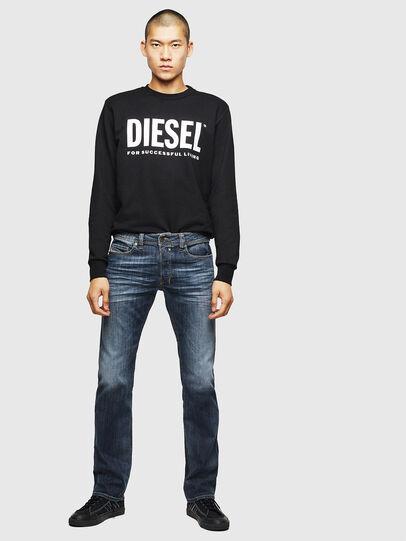 Diesel - Safado Straight Jeans 0885K, Dark Blue - Jeans - Image 5