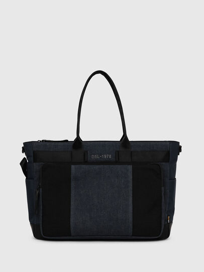 Diesel - BAGOTE, Dark Blue - Shopping and Shoulder Bags - Image 1
