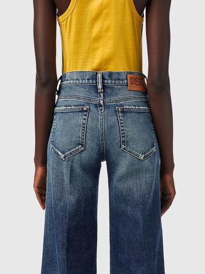 Diesel - D-Akemi Bootcut Jeans 09B17, Dark Blue - Jeans - Image 4