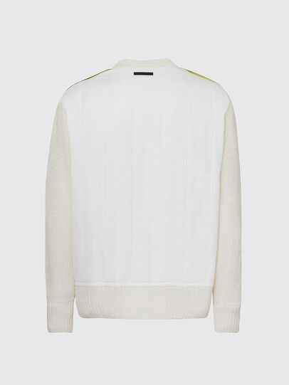 Diesel - K-DIBBY, White - Sweaters - Image 2