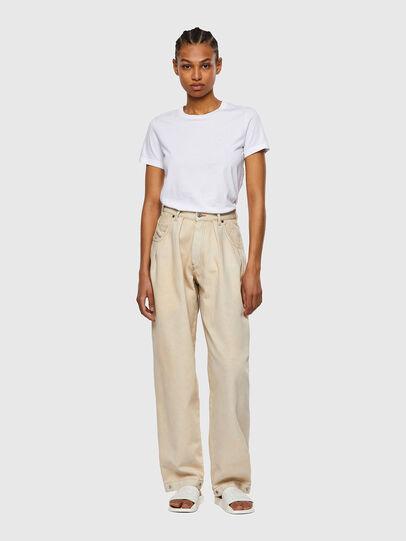 Diesel - D-Concias Boyfriend Jeans 009UV, White - Jeans - Image 5