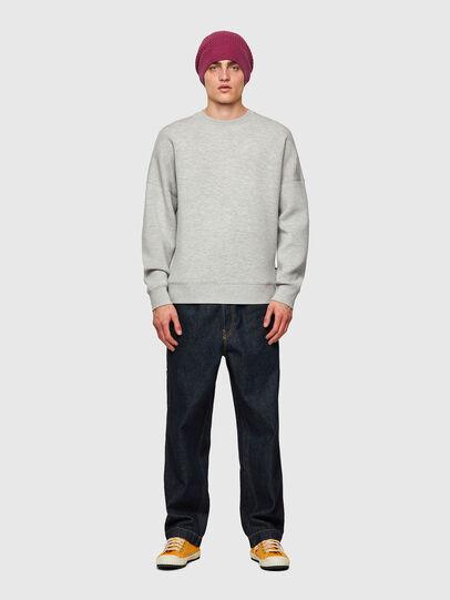 Diesel - S-KRIB, Grey - Sweatshirts - Image 5
