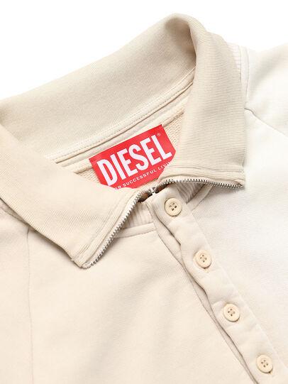 Diesel - GR02-T302, White - Sweatshirts - Image 3