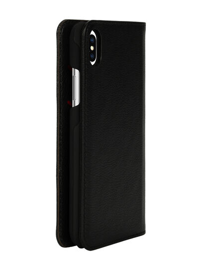 Diesel - DIESEL 2-IN-1 FOLIO CASE FOR IPHONE XS MAX, Black - Flip covers - Image 5