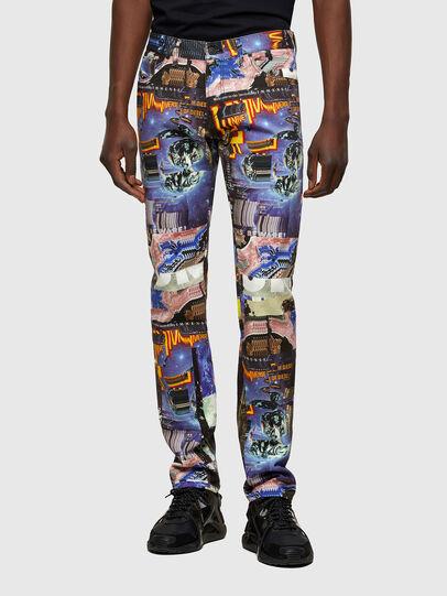 Diesel - D-Kras Slim Jeans 009VB, Multicolor - Jeans - Image 1