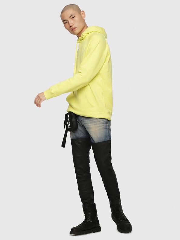 S-GIM-HOOD-A, Light Yellow - Sweatshirts