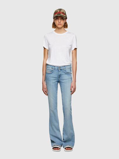 Diesel - D-Ebbey Bootcut Jeans 009TL, Light Blue - Jeans - Image 5