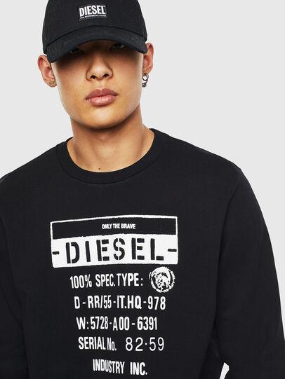 Diesel - S-GIRK-S3, Black - Sweatshirts - Image 3